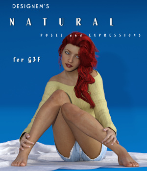 Natural for G3F 3D Figure Assets designem