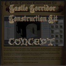 Castle Corridor Construction Kit image 1