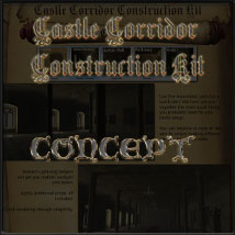 Castle Corridor Construction Kit image 2