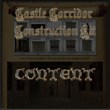 Castle Corridor Construction Kit image 3