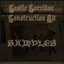 Castle Corridor Construction Kit image 4