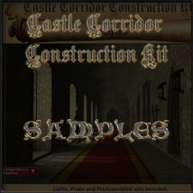Castle Corridor Construction Kit image 7
