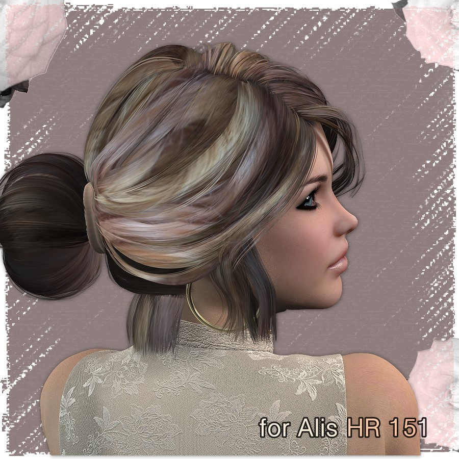hair styles for back to school am lovely colors and styles for hr 151 3d figure assets 3063