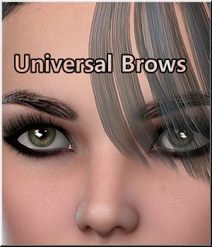 AM: Universal Brows - Merchant Resource 20 Pair Merchant Resources LUNA3D