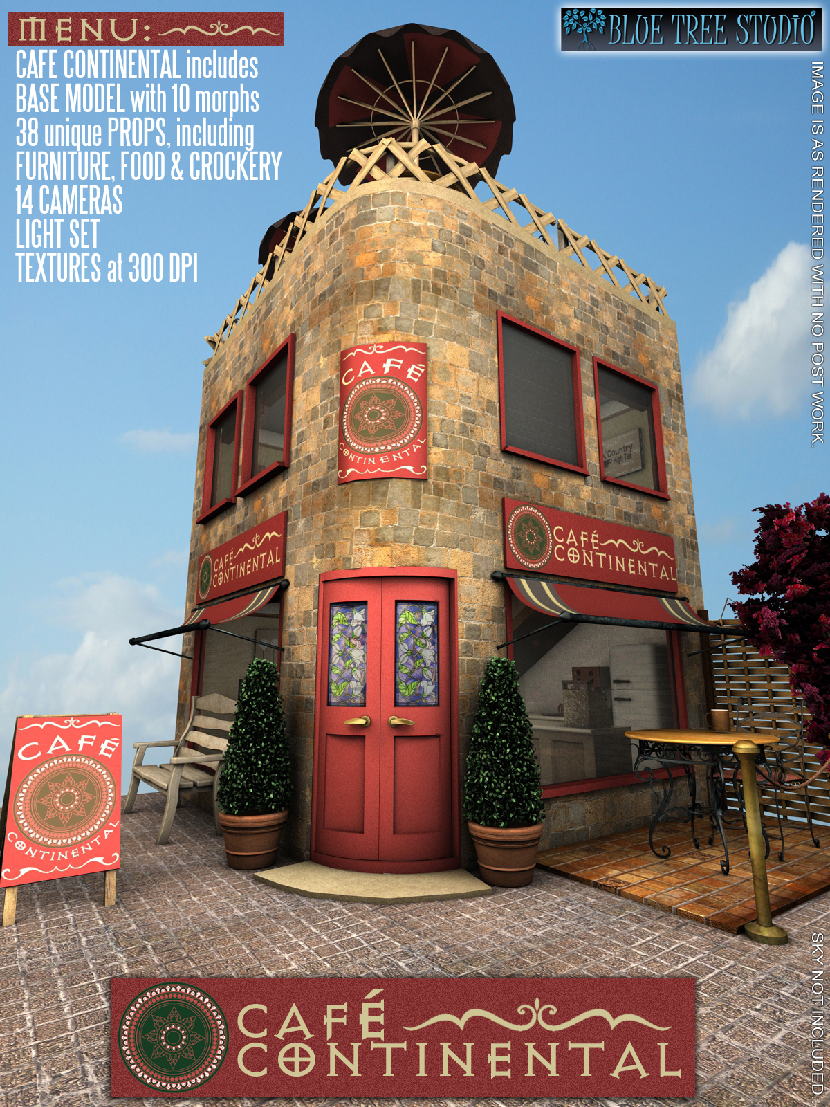 Cafe Continental by BlueTreeStudio