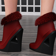 Just A Kiss Boots for Genesis 2 Female(s) image 1