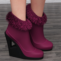 Just A Kiss Boots for Genesis 2 Female(s) image 2