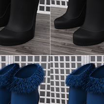 Just A Kiss Boots for Genesis 2 Female(s) image 5