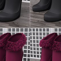 Just A Kiss Boots for Genesis 2 Female(s) image 7