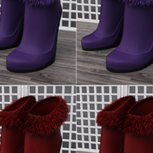Just A Kiss Boots for Genesis 2 Female(s) image 8