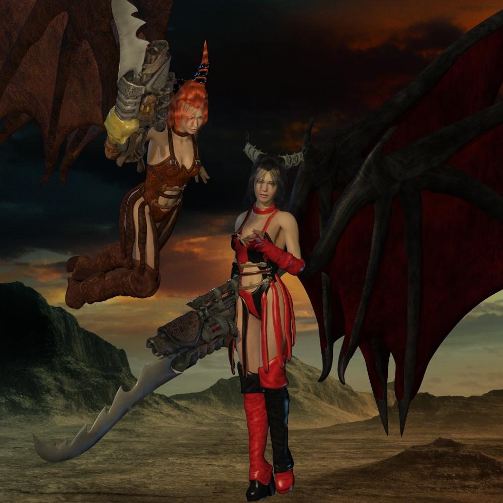 NIGHT'S DAUGHTER for S1M Scarlet:Demonia by Anagord