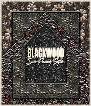 BLACKWOOD Deco Framing Styles 2D Graphics RajRaja