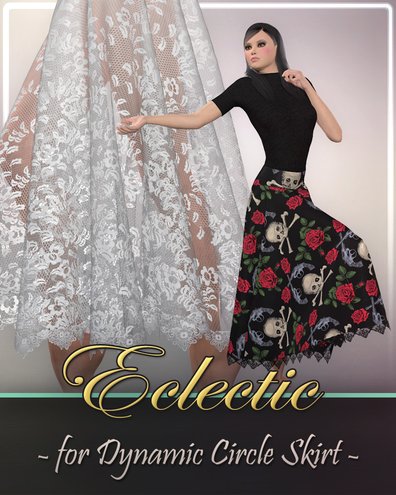 Eclectic for Dynamic Circle Skirt