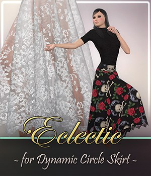 Eclectic for Dynamic Circle Skirt 3D Figure Assets Frequency