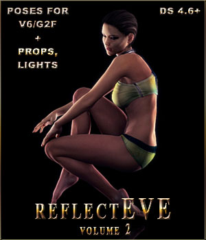 reflectEVE for V6 -Vol2 3D Figure Assets 3D Lighting : Cameras Propane-Antistar