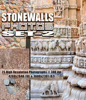 STONEWALLS PHOTOS SET-2 2D Graphics RajRaja