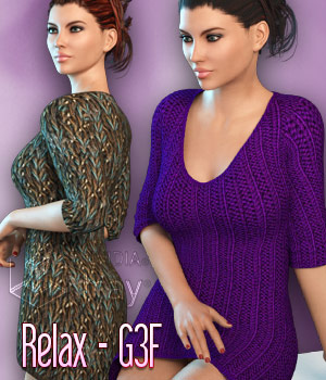 Relax Genesis 3 Females 3D Figure Essentials kaleya