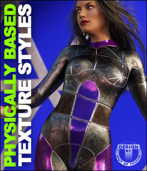 OOT PBR Texture Styles for Sci-Fi Bodysuit 3D Figure Essentials outoftouch
