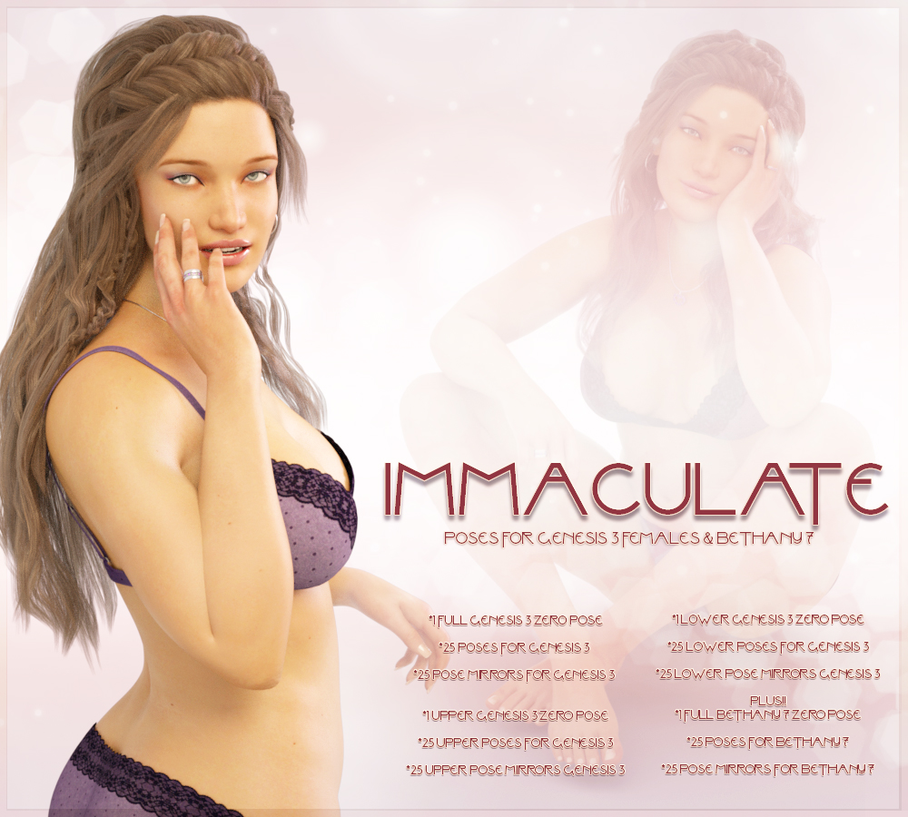 Immaculate For Genesis 3 & Bethany 7