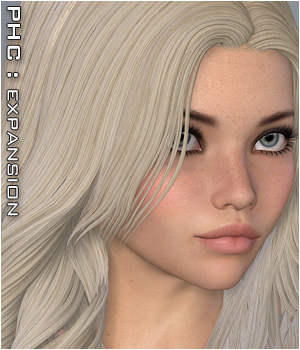 PHC : 2010 Hair V4 & V6/G2 3D Figure Essentials P3D-Art