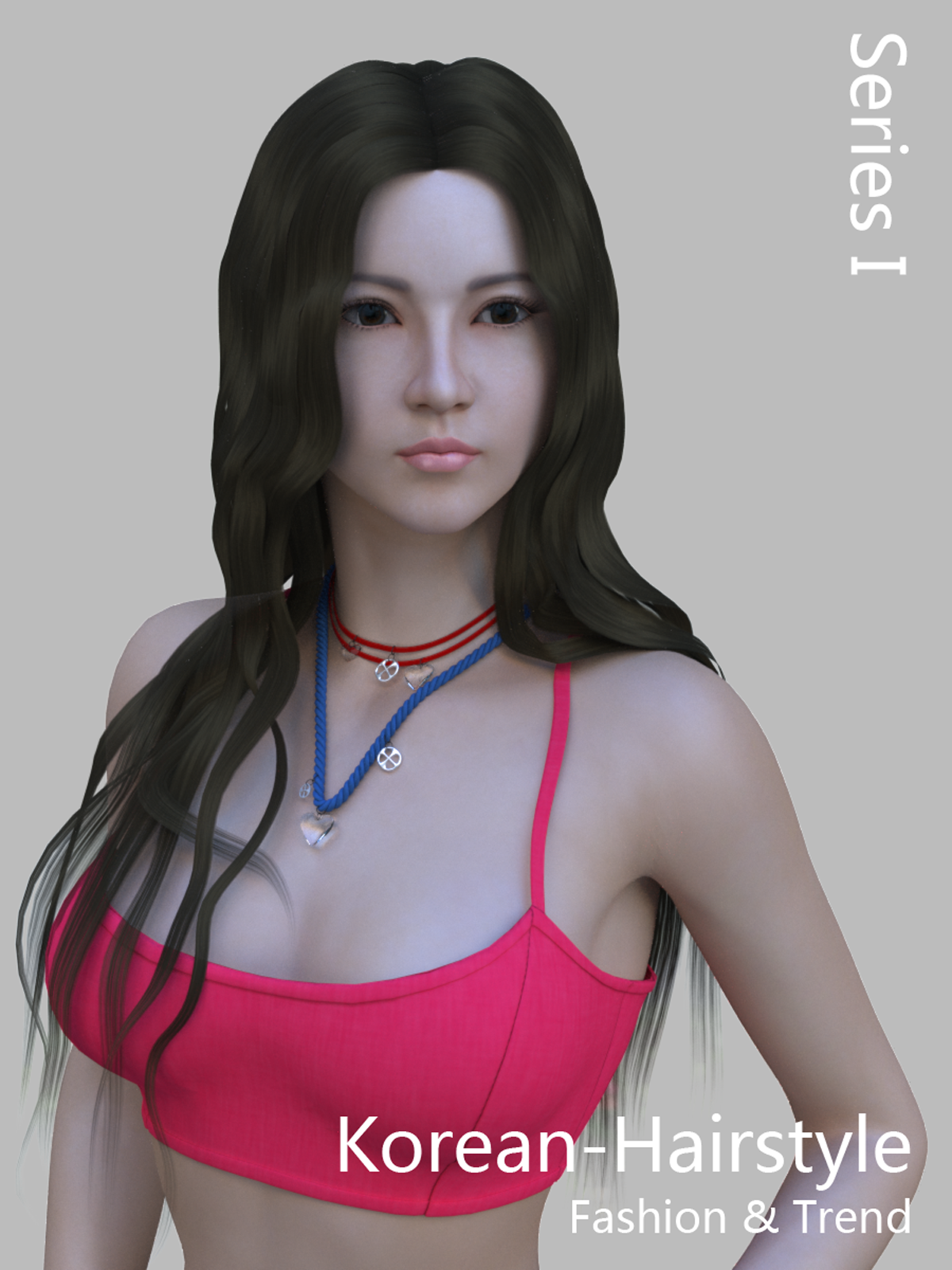 Korean Hairstyle Fashion I 3d Figure Assets Sikeijau