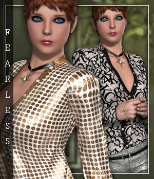 Fearless for Sexy Elegance 3D Figure Essentials sandra_bonello