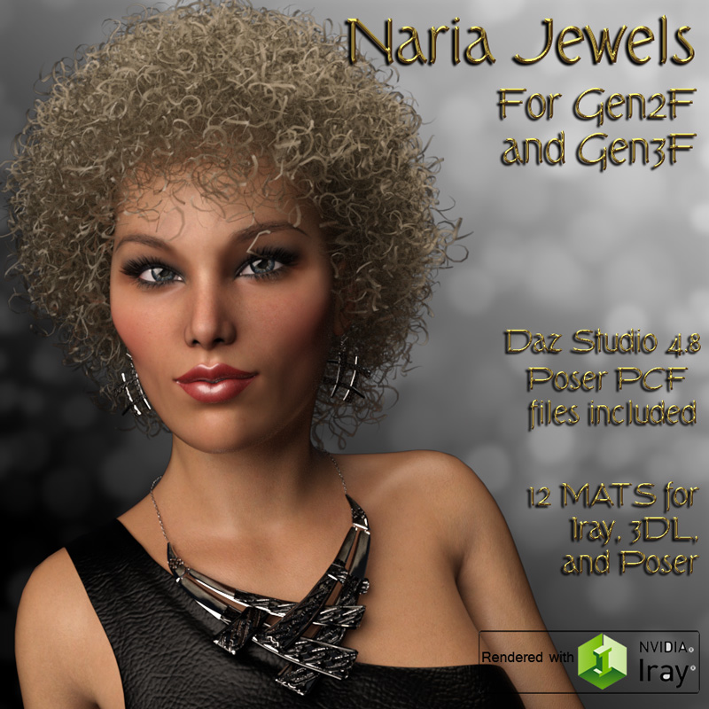 Naria Jewels for G2F/G3F