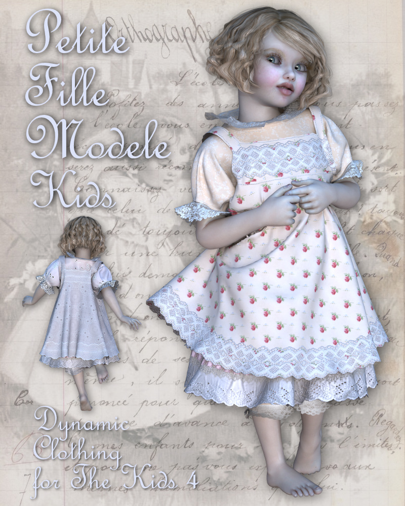 Petite Fille Modele for The Kids 4