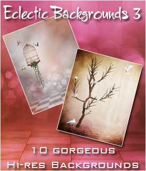 BBEclectic Backgrounds 3 2D Graphics Bez