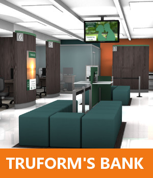 Truform's Bank 3D Models TruForm