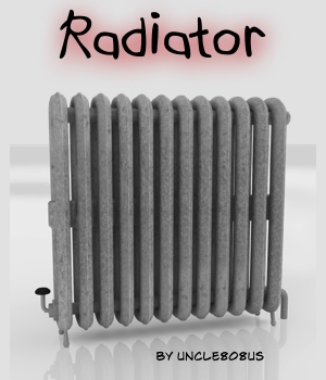 Radiator 3D Models uncle808us