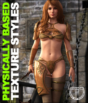 OOT PBR Texture Styles for Battle Driven Outfit 3D Figure Essentials outoftouch