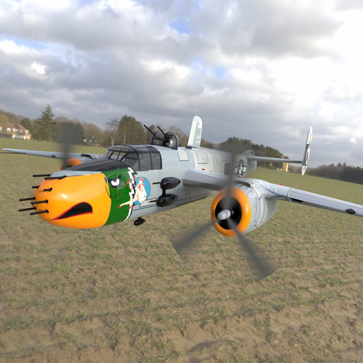 Mitchell B25J (for Poser)