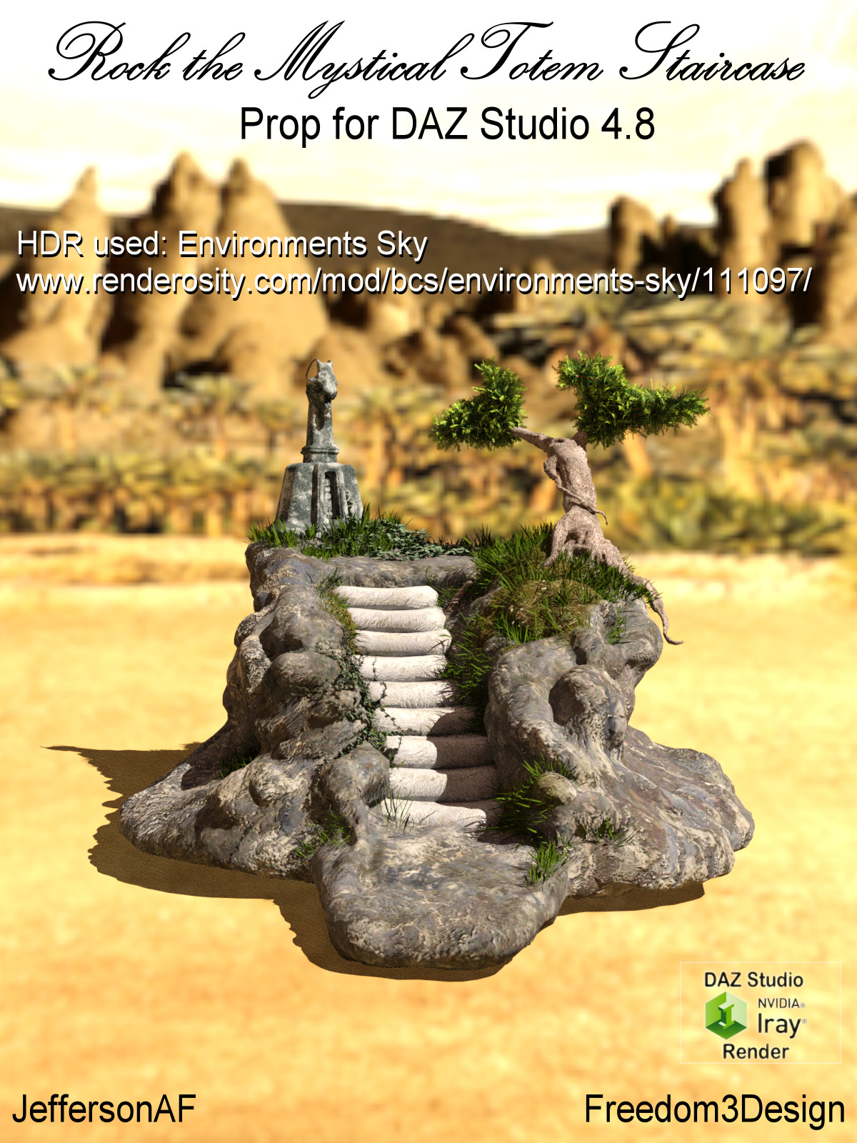 Rock the Mystical Totem Staircase by JeffersonAF