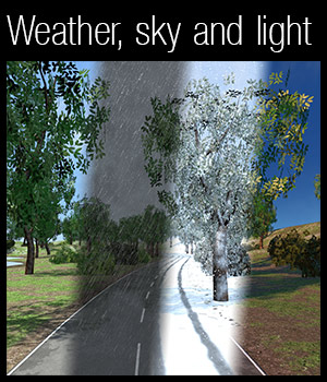 Weather, light and sky system 3D Models 2nd_World