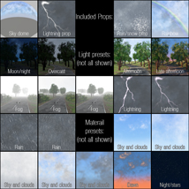 Weather, light and sky system image 6