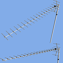 UHF Antenna 2 types Inclusion(OBJ)By x7 image 1