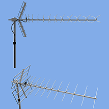 UHF Antenna 2 types Inclusion(OBJ)By x7 image 3