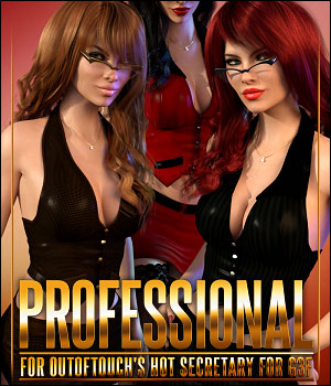 Professional for HOT Secretary 3D Figure Assets ShanasSoulmate