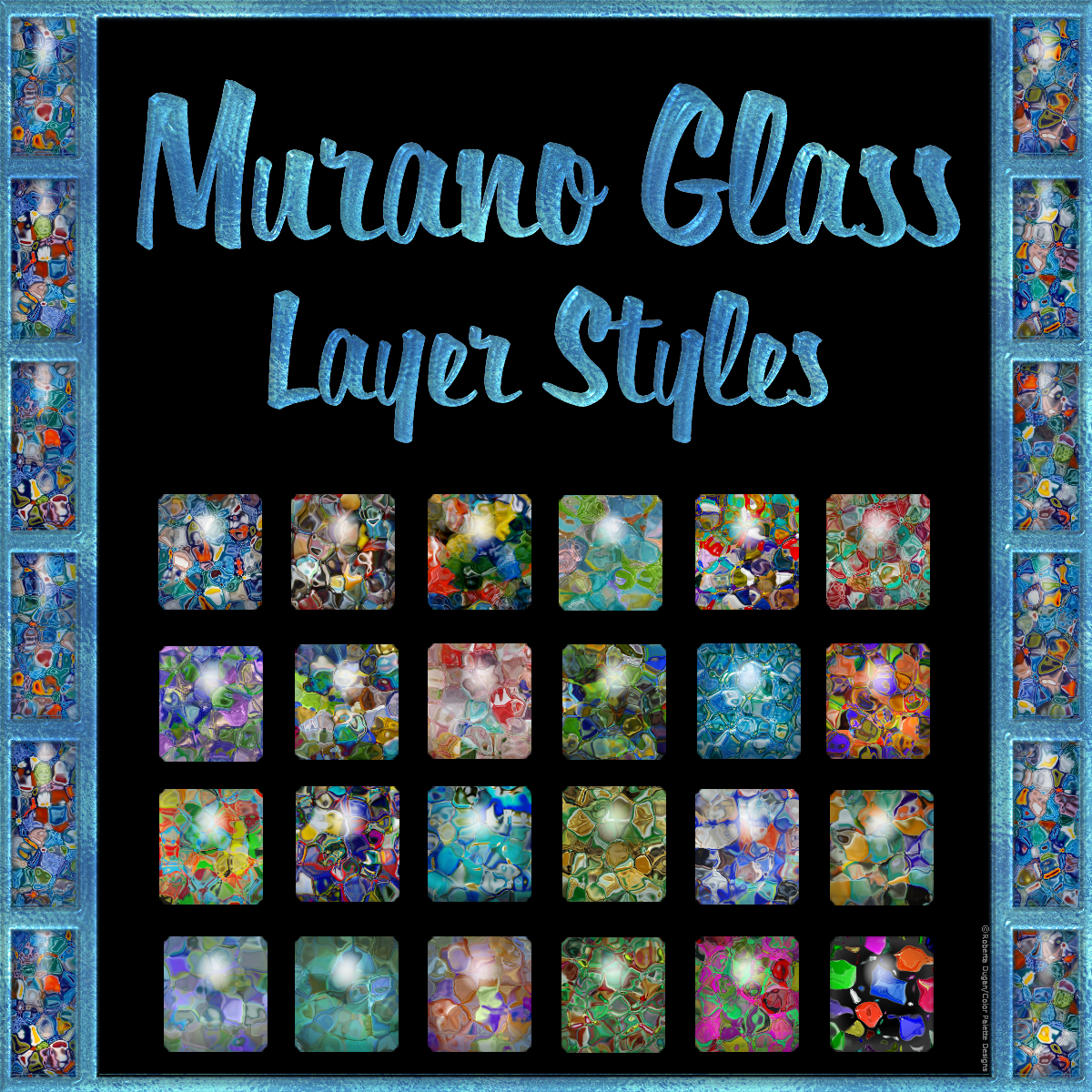 Murano Glass Layer Styles by fractalartist01