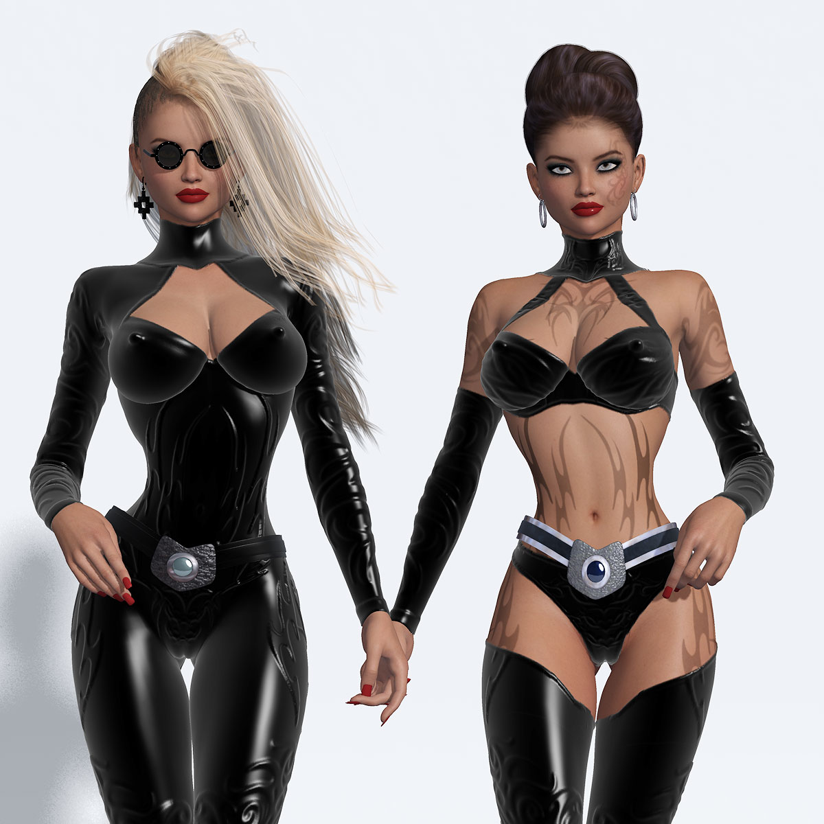 B#1 Madam O Super Skinz Bodygloves Kit by lululee