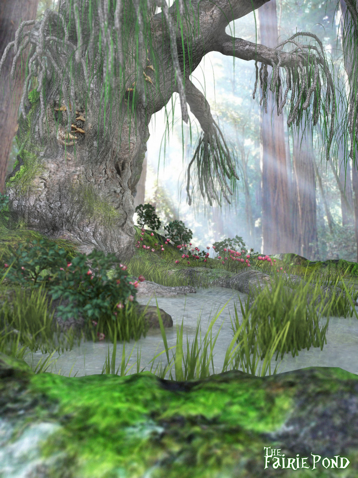 Fairie Pond Set (Poser, Obj & DS)