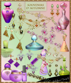 Souvenirs d Automne 2D Graphics Merchant Resources Perledesoie