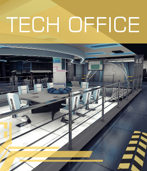 Tech Office 3D Models TruForm