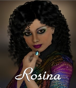 Rosina for V4.2 3D Figure Assets chrislenn