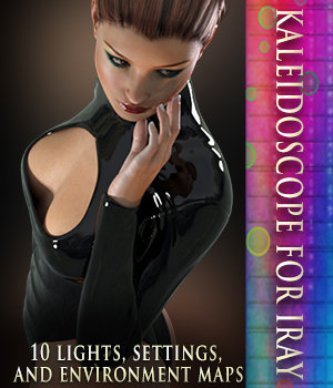 Kaleidoscope - Iray Lights & Settings Lights OR Cameras 3DSublimeProductions