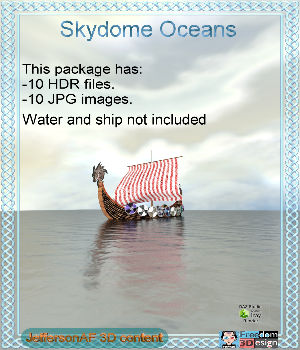 Skydome Oceans 2D Graphics 3D Models JeffersonAF