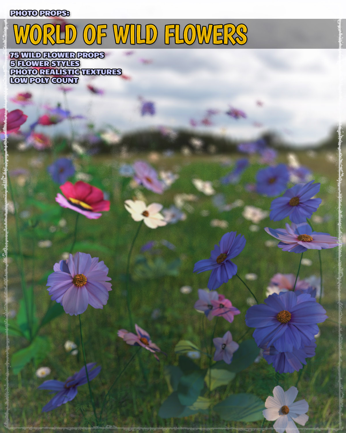 Photo Plants: World of Wildflowers by ShaaraMuse3D