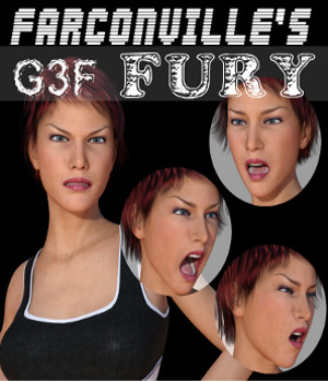 Genesis 3 Female FURY 3D Figure Essentials farconville