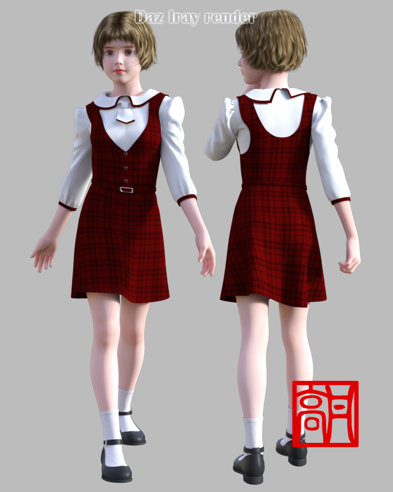 GaoDan Uniforms 11 for Genesis 3 Female(s) by gaodan